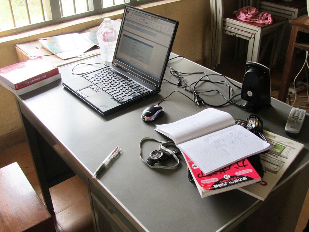 カンボジア時代の職場