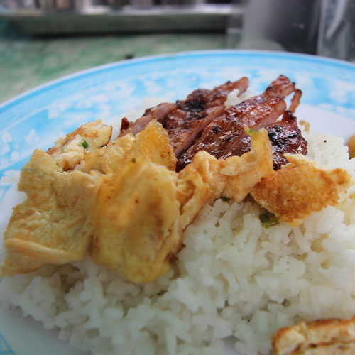 バイサイチュルーク(焼き豚ごはん)