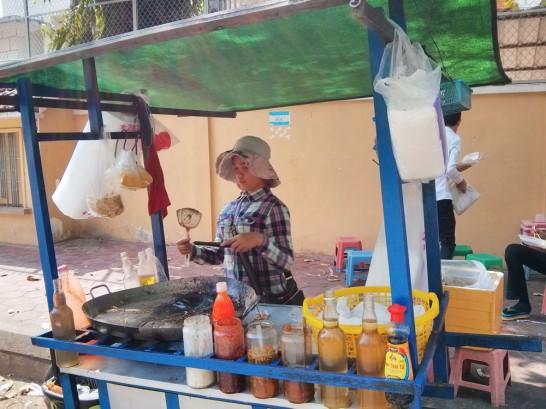 麺料理の屋台