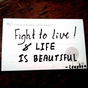 カンボジアの友人がくれたメッセージ