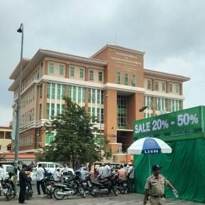 カンボジア最大の裁判所