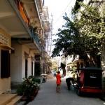 地方出身者を受け入れているお寺。敷地内には宿舎があります。