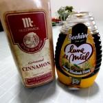風邪にはシナモンとハチミツがいいらしい。