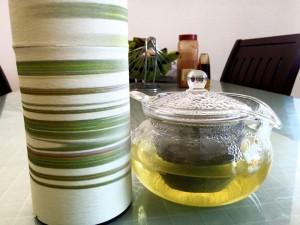茶茶丸急須。ガラス製でとても使いやすいです。