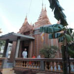 ウナロム寺院の裏手にあるお堂。なんと1000年以上前に建てられたのだとか。本当か?