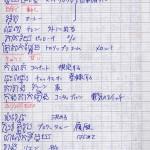 昔クメール語を勉強するのに使っていた単語帳