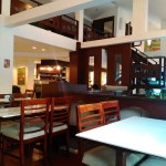 Kiriyaカフェ。静かなのでゆっくりと作業ができます。
