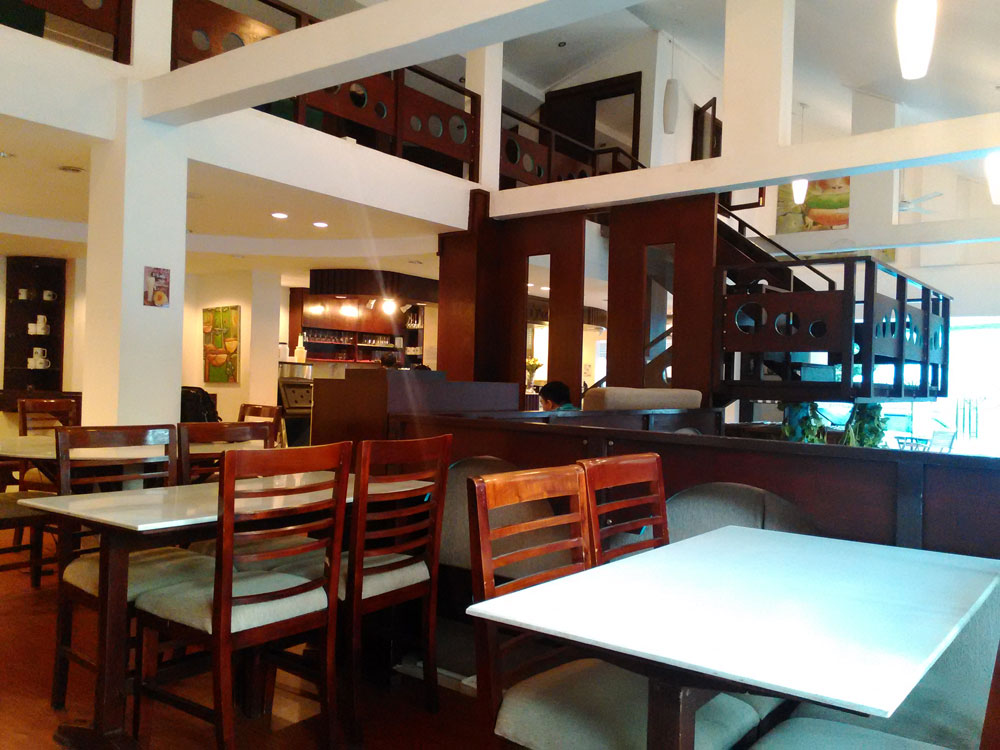 プノンペンのカフェ
