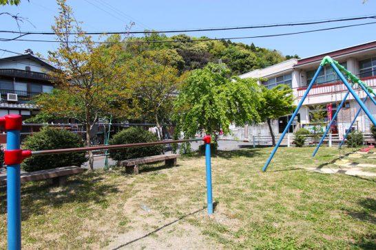 沖島の公園