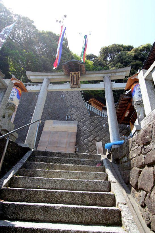 沖島の神社