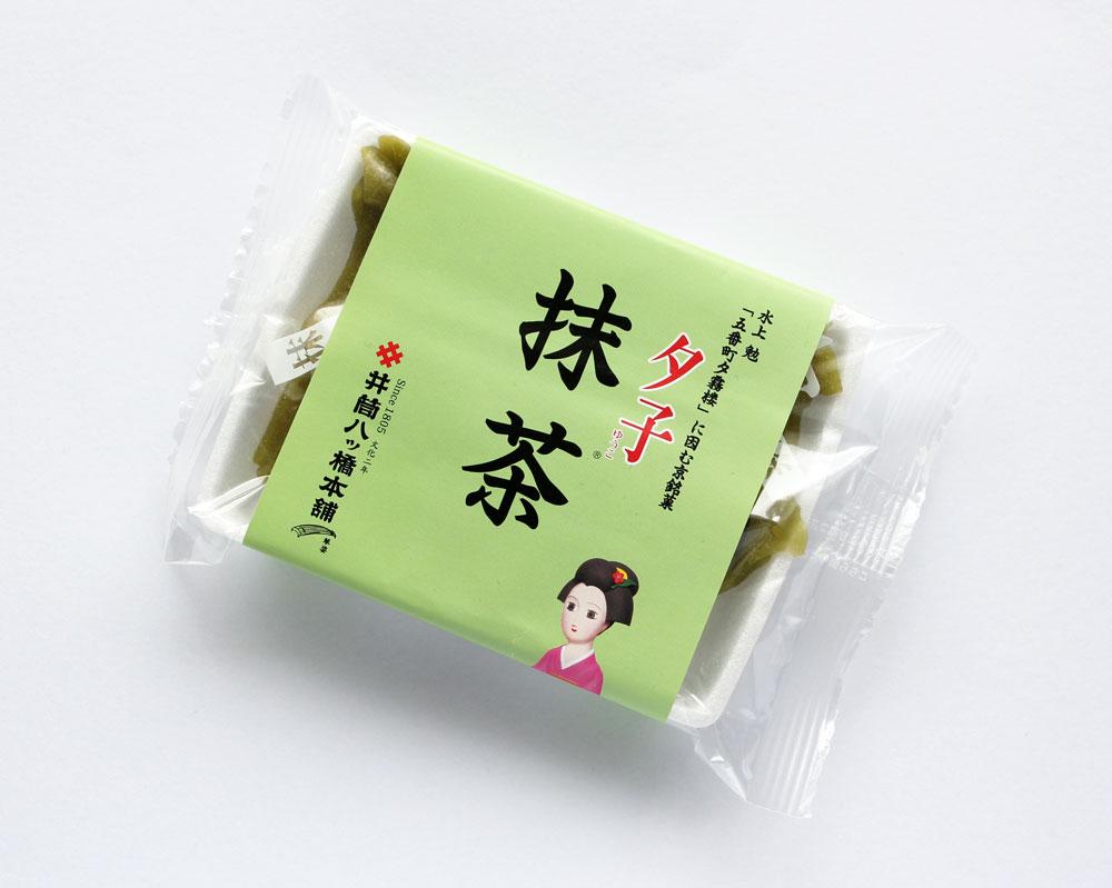 【井筒八ッ橋本舗】夕子(抹茶)