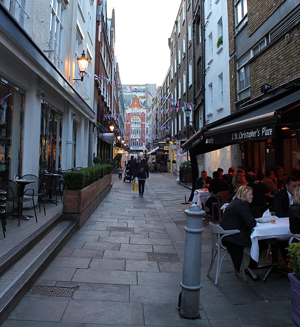 イギリスのレストラン