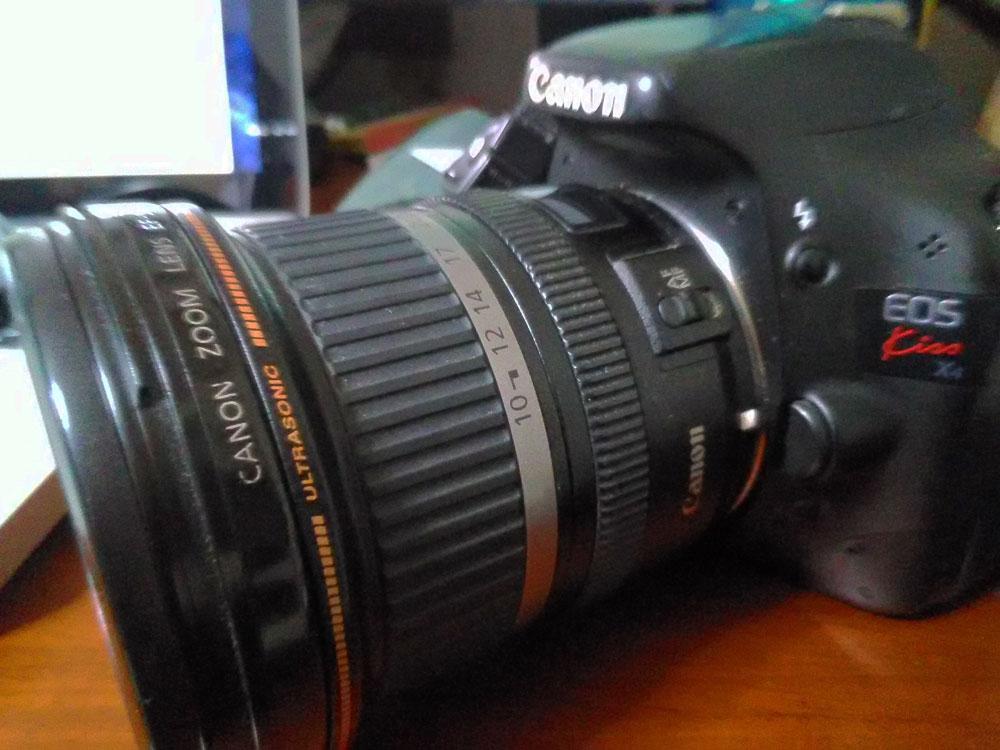 撮影に使っているカメラ