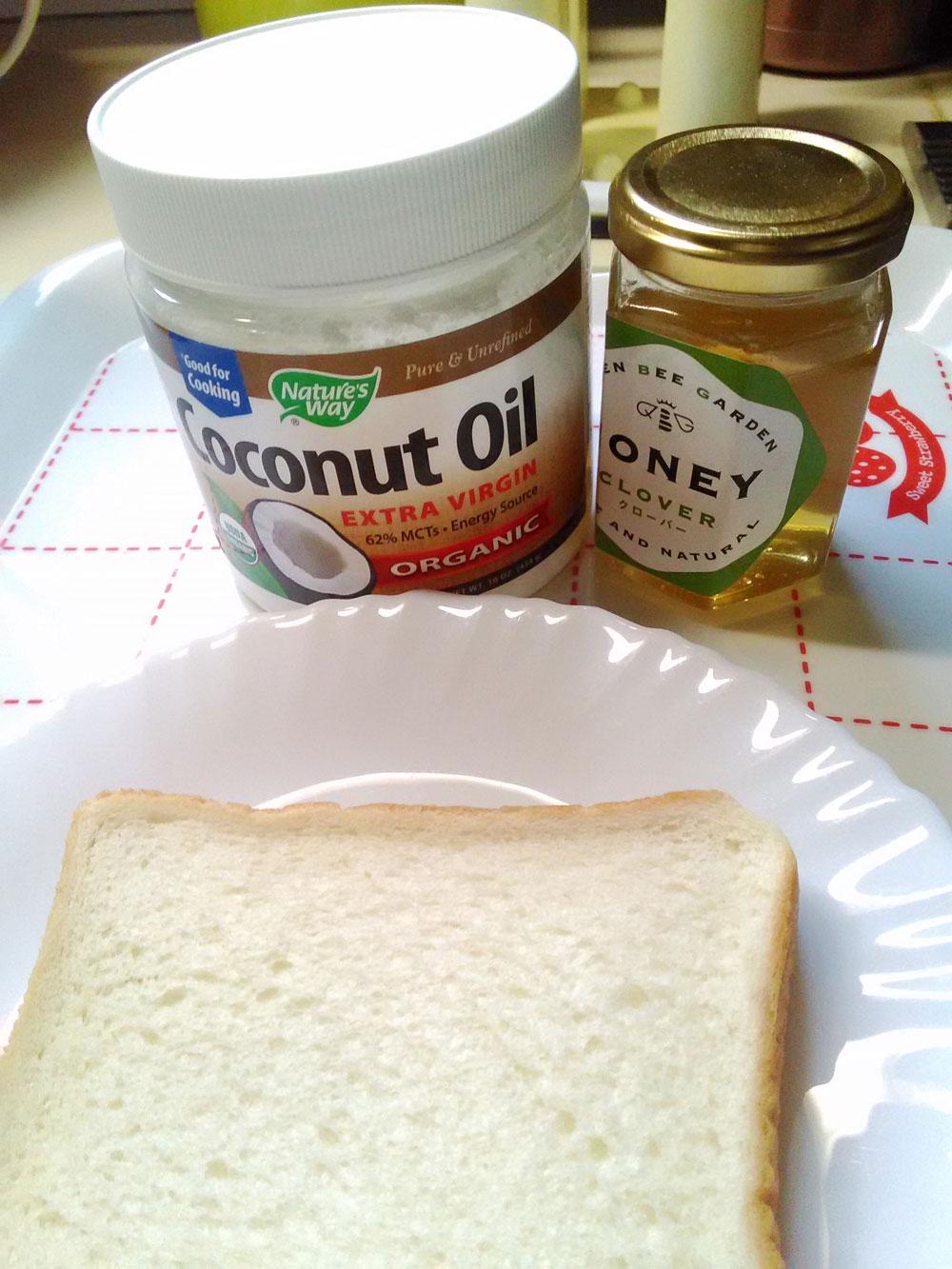 ココナツオイルとハチミツで素敵で健康的な朝食を | 人生は宇宙だ!