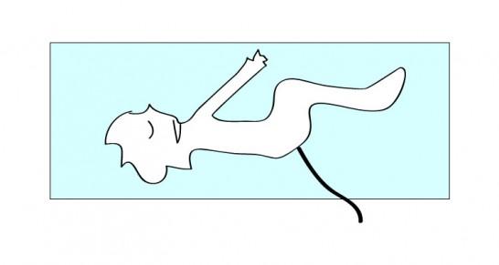 大腸カメラをする時の姿勢