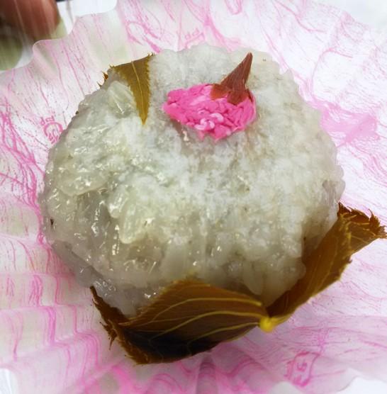 金沢和音の桜もち