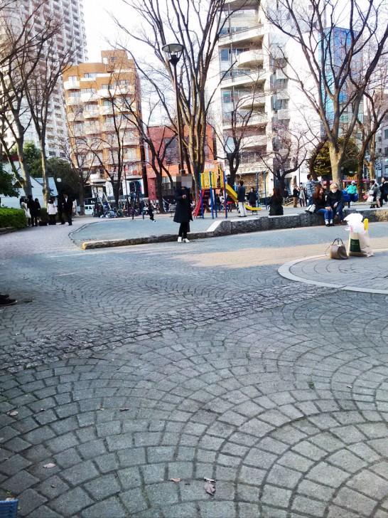 最後に桜餅を食べた公園