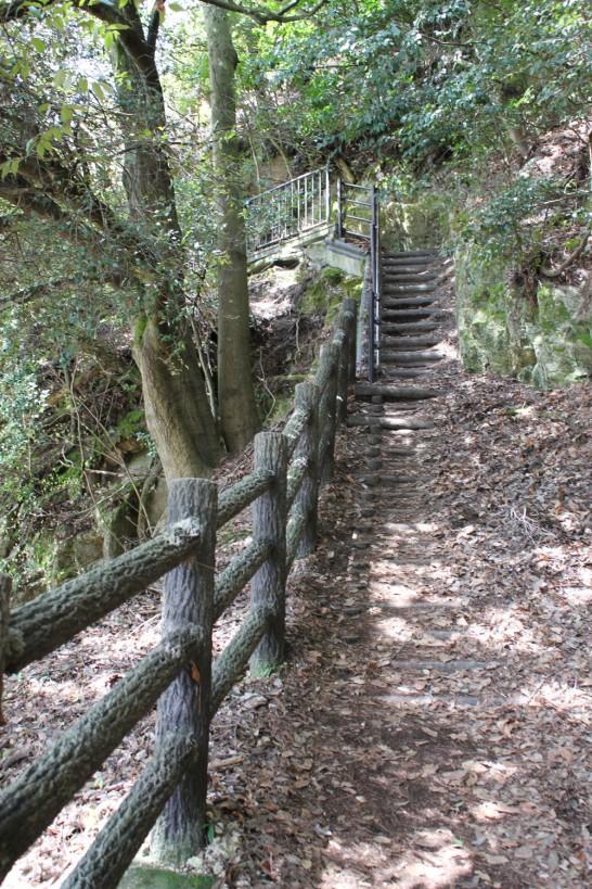 階段は結構急