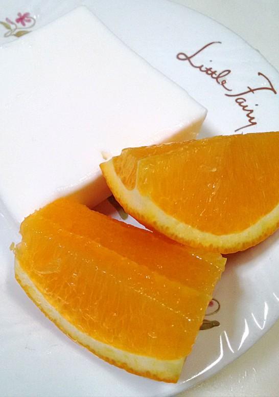 オレンジを添えてみた