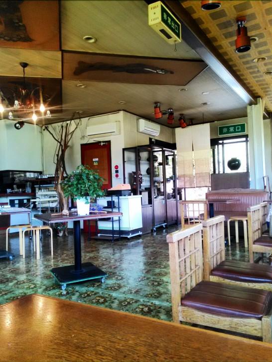 30年前の喫茶店を彷彿とさせる店内