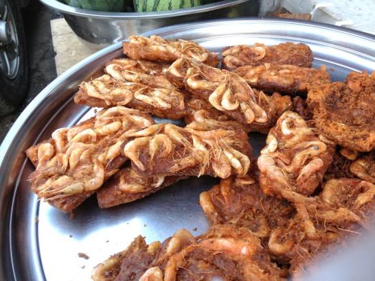 カンボジアのエビパン