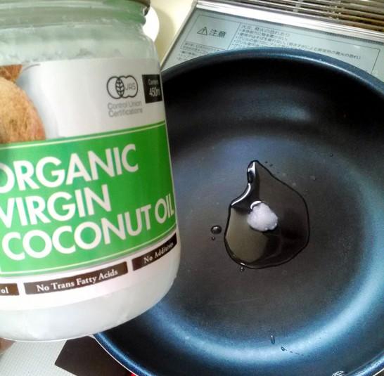 油はココナツオイル