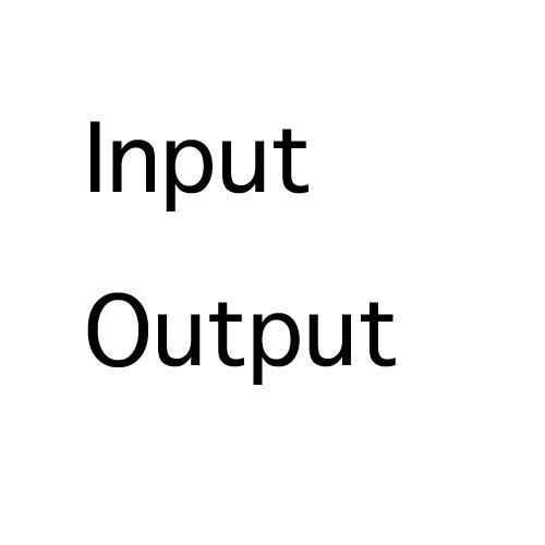 インプットとアウトプットのバランス