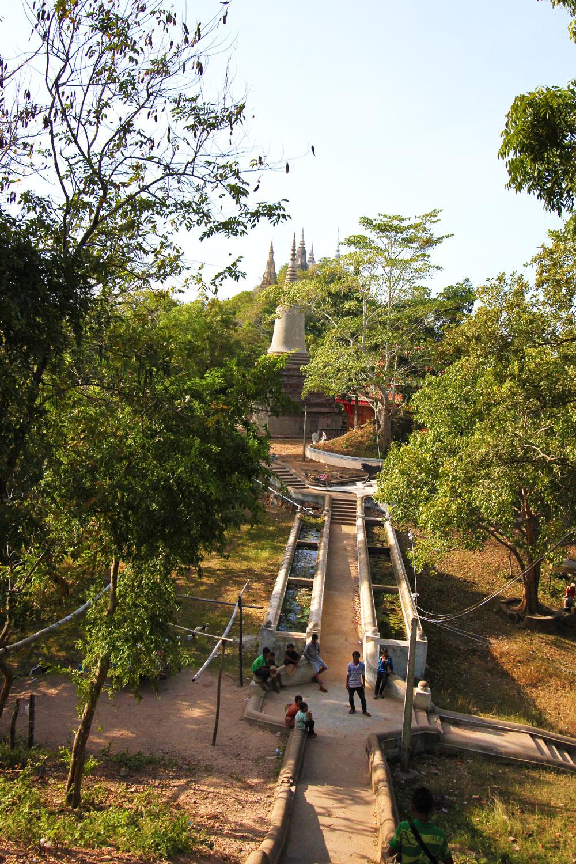 カンボジアの古都・ウドン