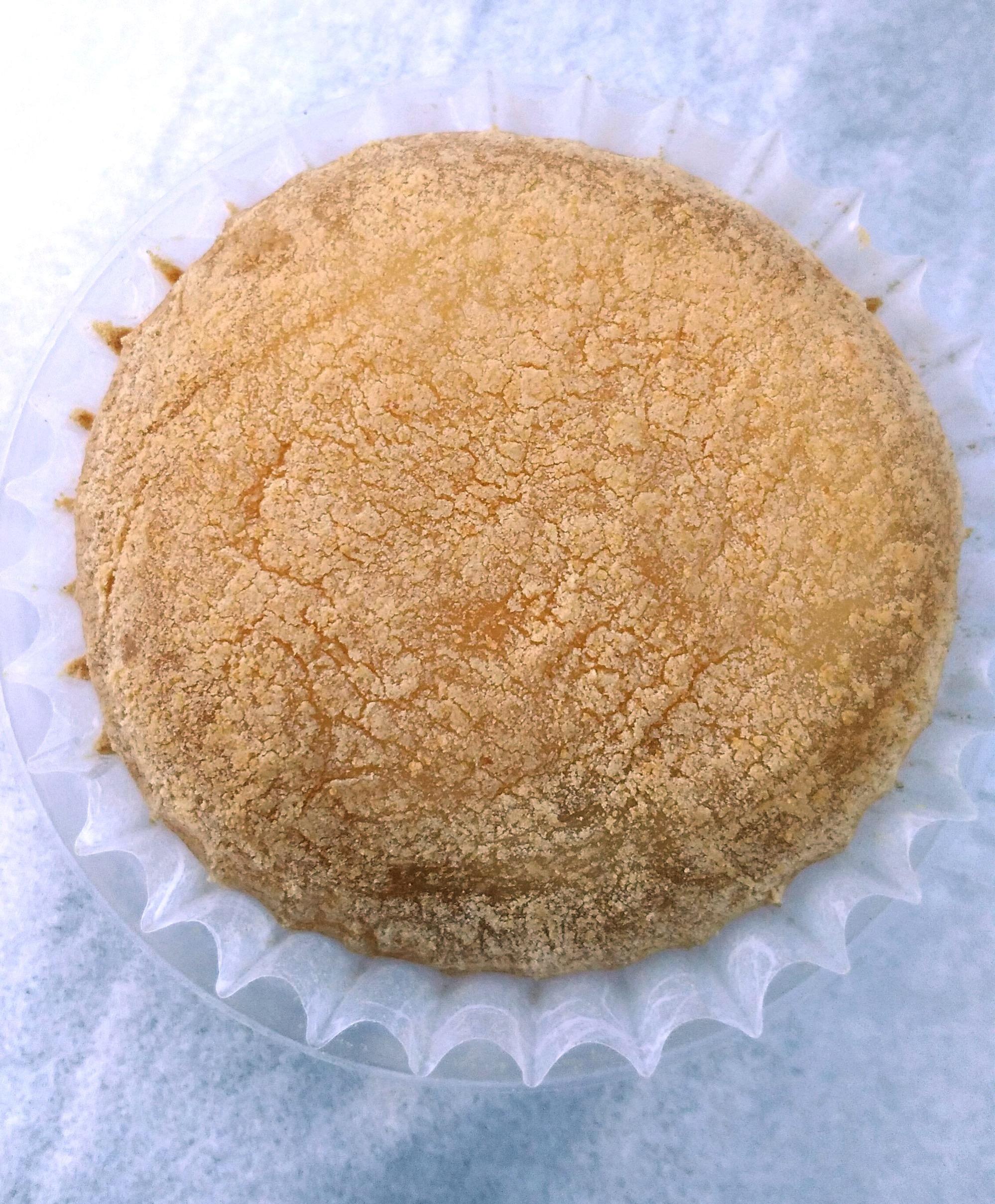 きな粉がまぶしてあるわらび餅
