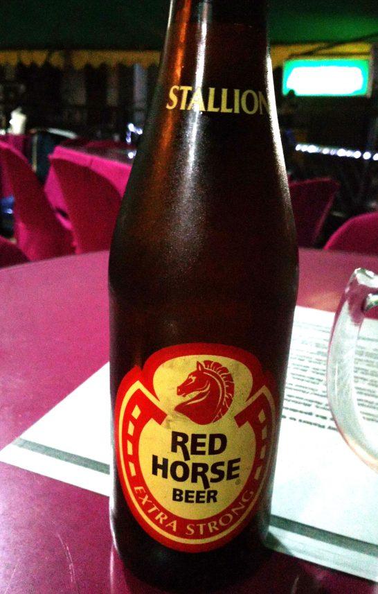 フィリピンのビール・レッドホース
