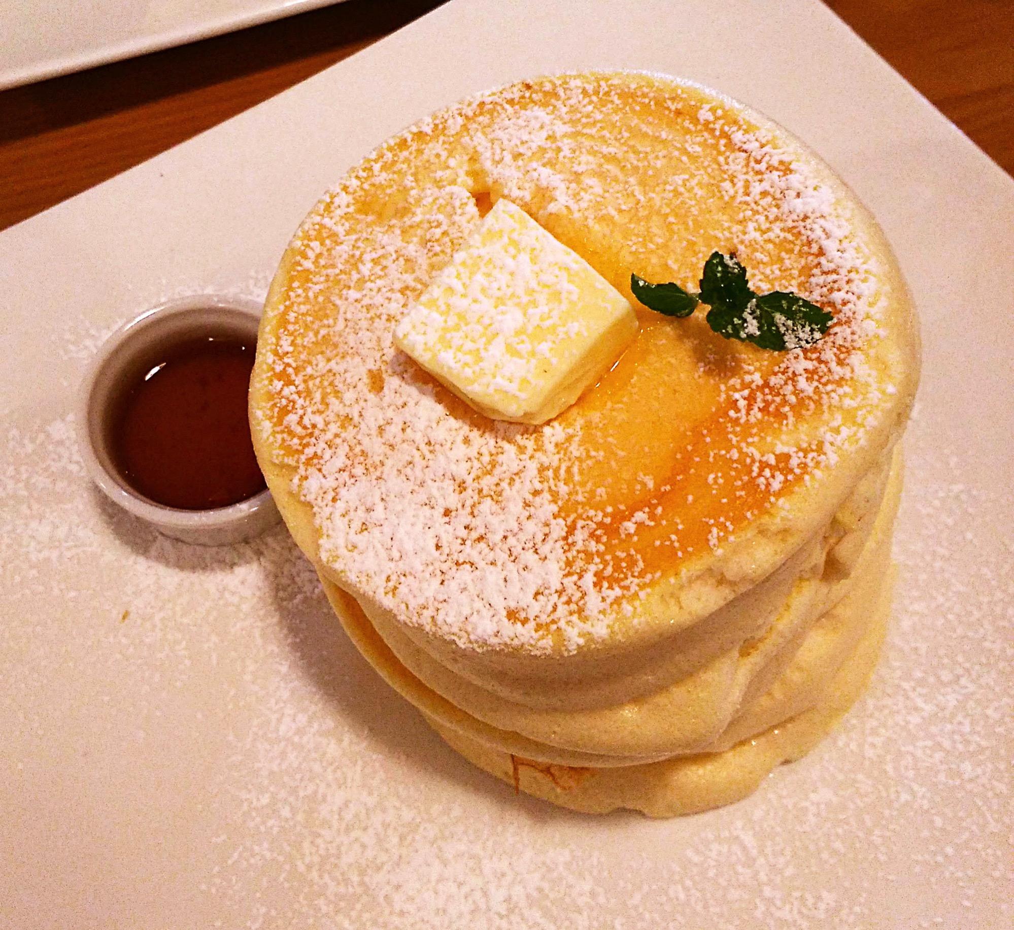 フルールのパンケーキ