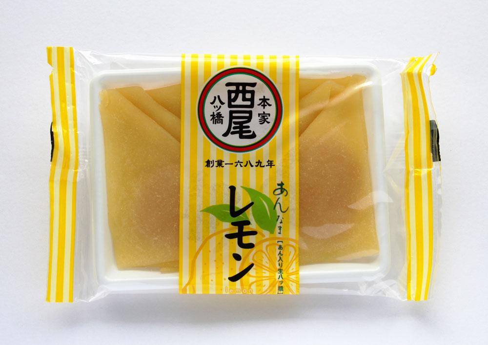 西尾八ツ橋 レモン