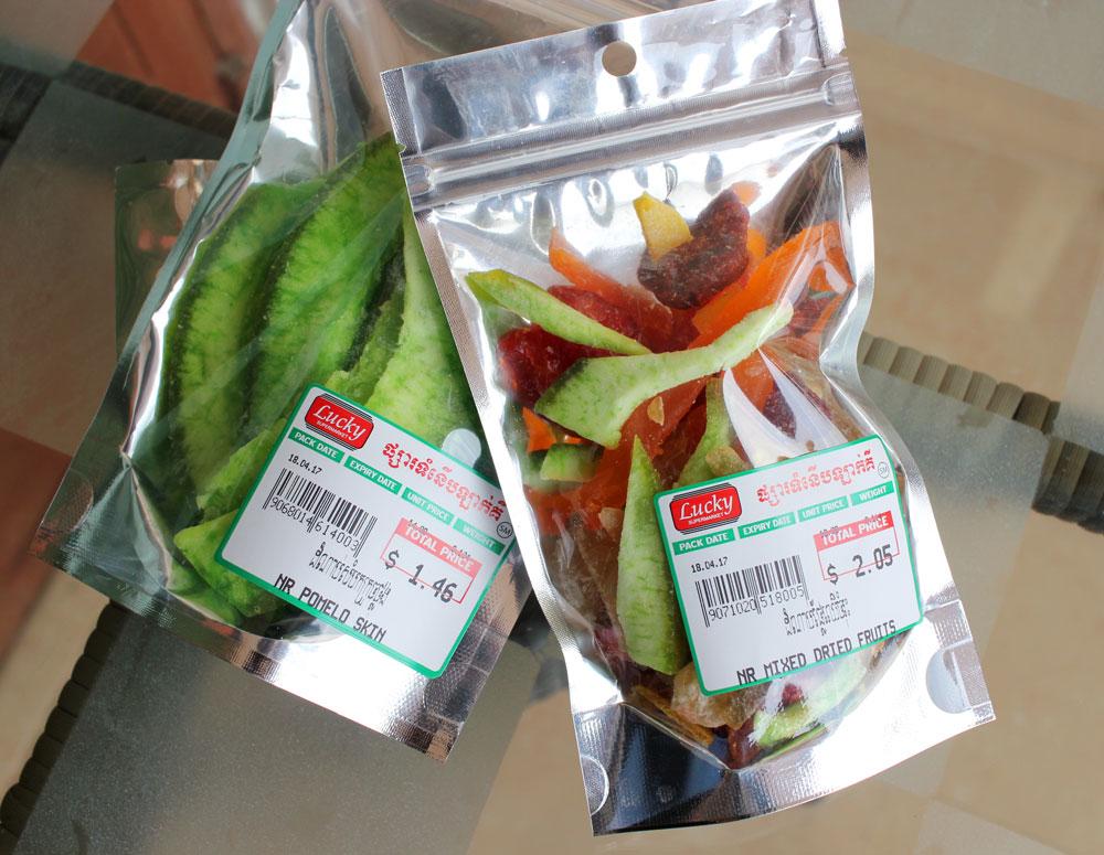 カンボジアのドライフルーツ