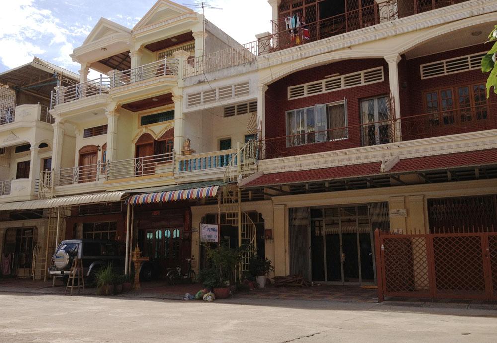 カンボジアの家
