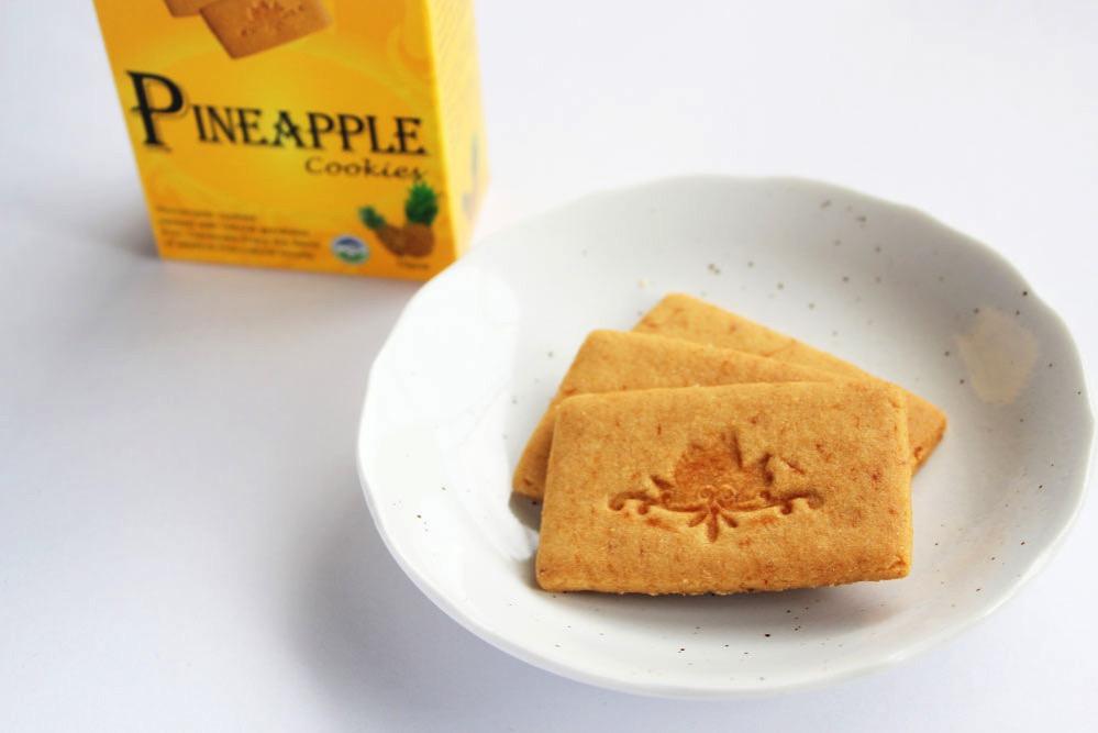 マダムサチコ・パイナップルクッキーの中身
