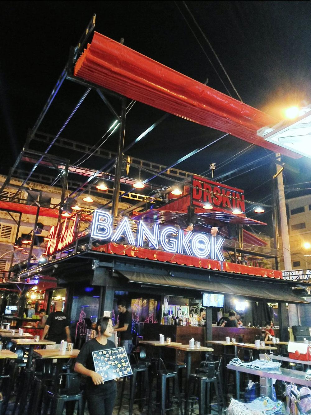 BANGKOKという名前のバー