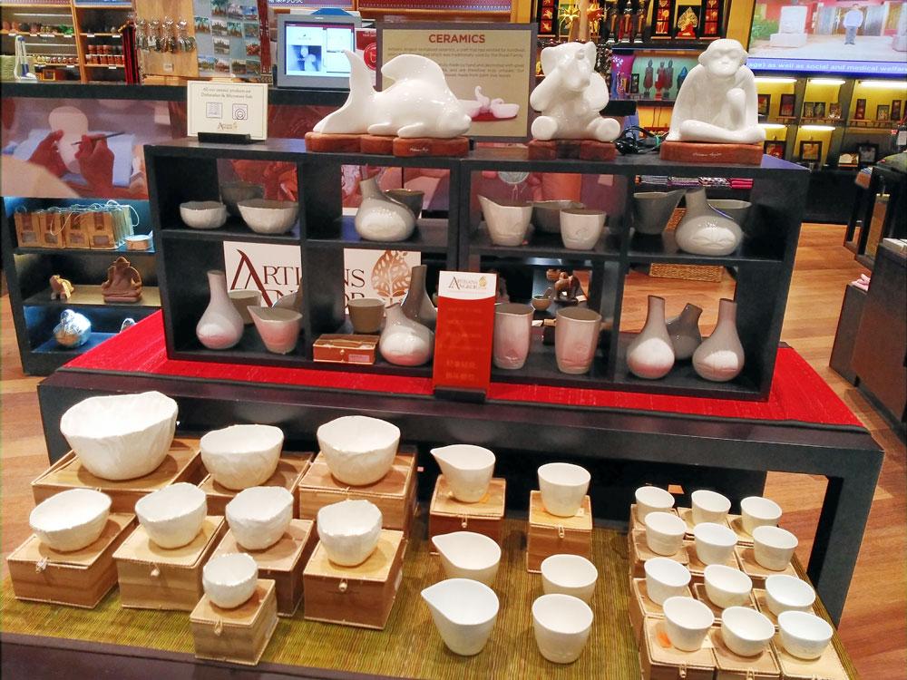 コンポンチュナンの陶器