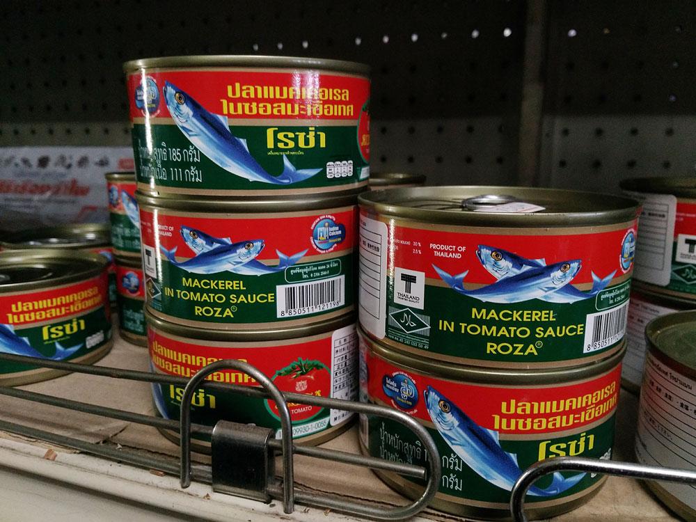 サバのトマト煮缶詰