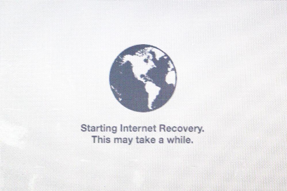 インターネットリカバリ