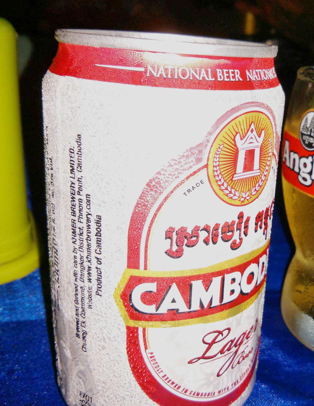 CAMBODIAビール