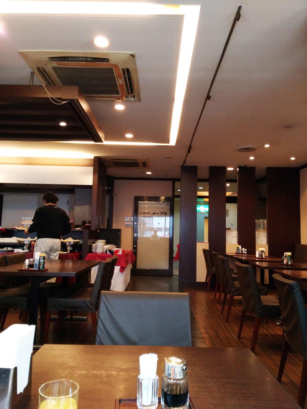 ホテルリブマックス横浜鶴見の朝食会場