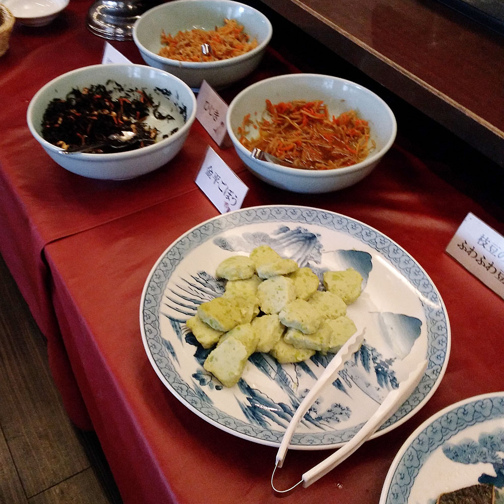 ホテルリブマックス横浜鶴見の朝食(和食)