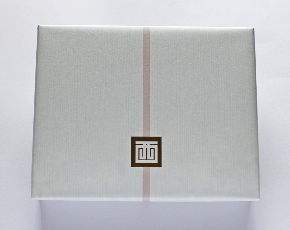 かぐわしき八ツ橋の包み紙