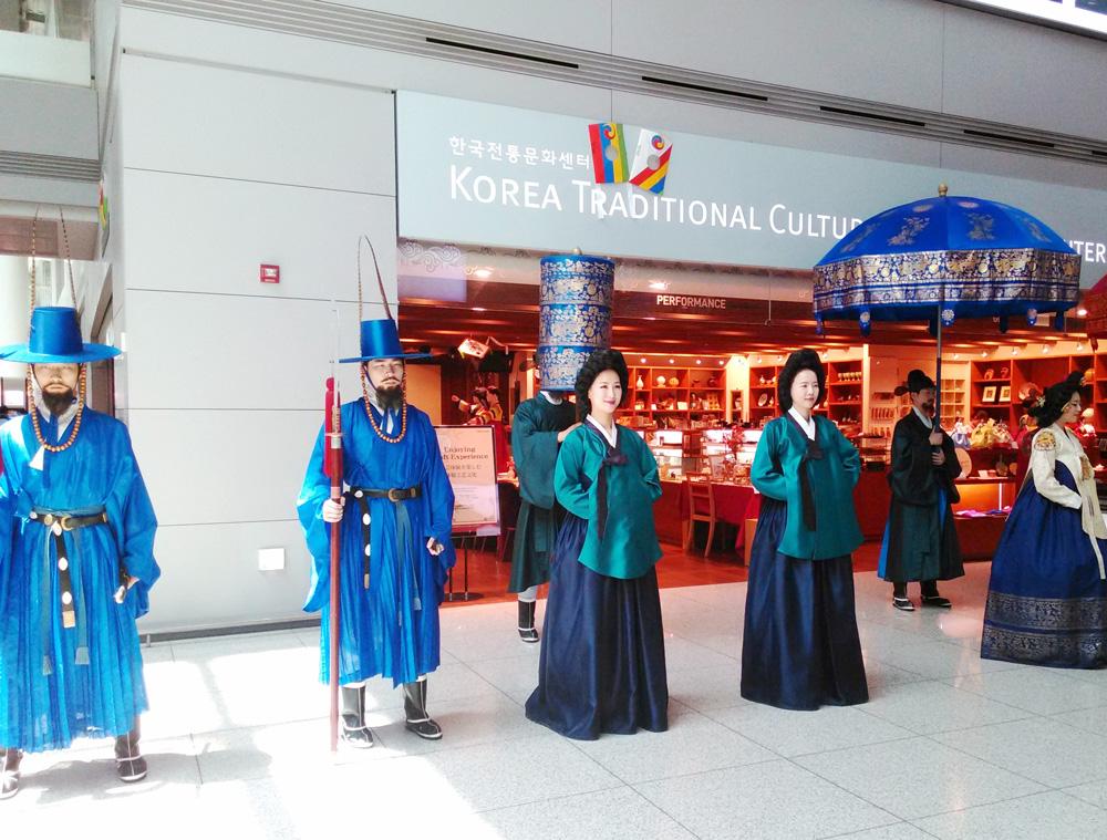 仁川空港で行われていたイベント