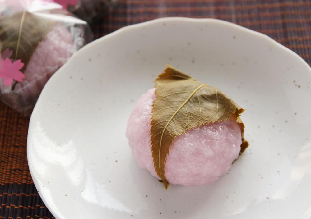 青木松風庵の桜餅