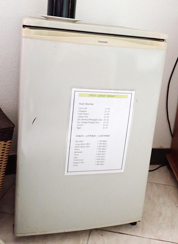 冷蔵庫も完備
