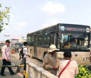3号線の市バス