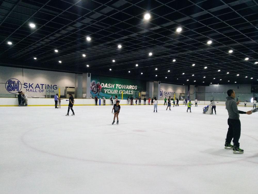 MOAのアイススケートリンク