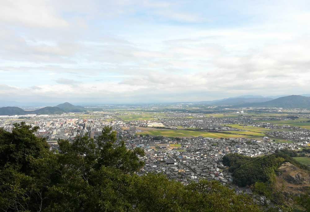 村雲御所瑞龍寺からの眺め