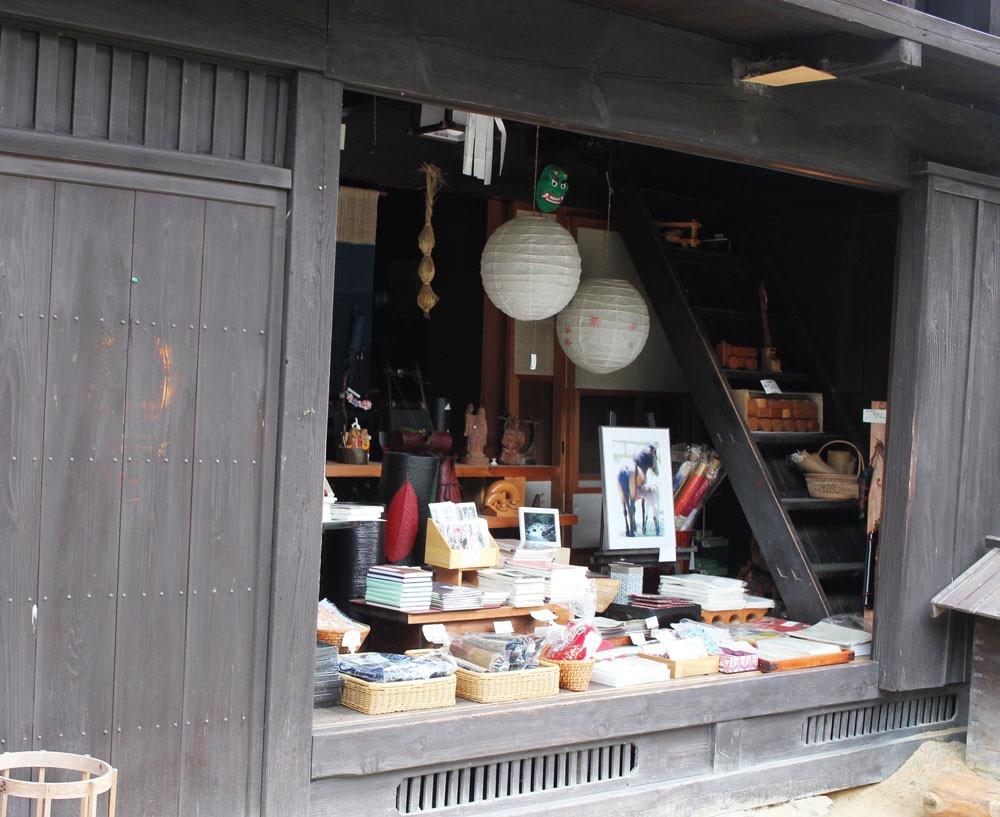 妻籠宿の商店